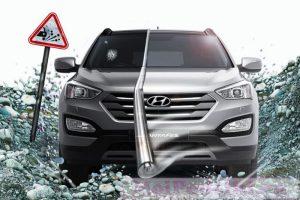 Статья Бронирование, или антигравийная защита автомобиля