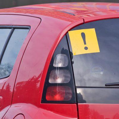 Проблемы начинающего водителя